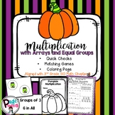 Multiplication with Arrays and Equal Groups Review (Go Math Chapter 3)
