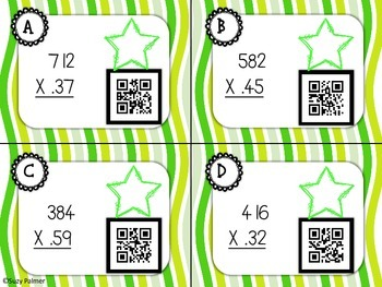 Multiplication with Decimals (2 places)