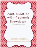 Multiplication with Decimals Showdown!