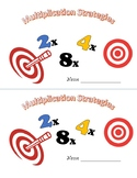 Multiplying with Doubles Strategies - Mini Workbook - Third Grade