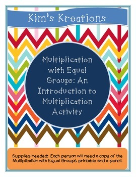 Multiplication with Equal Groups: An Introduction to Multi