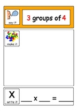 Multiplication with Equal Groups / Arrays - using counters