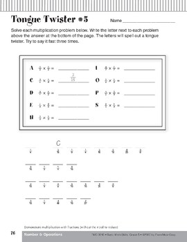 Multiplication with Fractions