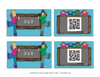 Multiplication with QR Codes