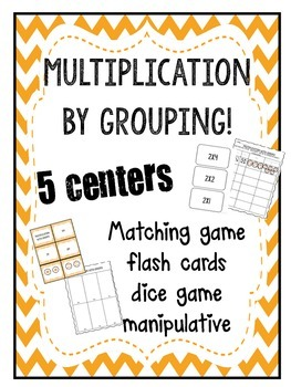 Multiplication with grouping game