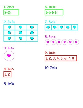 Multiplication within 30