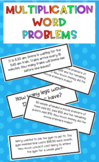 #AUSBTS18 Multiplication word problem cards {32 different