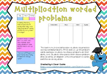 Multiplication worded problems multiple abilities
