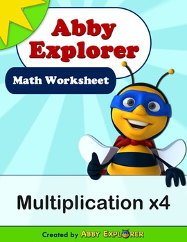 Abby Explorer Math - Multiplication x4
