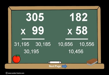 Multiplication(All Levels)PowerPoints + Matching Worksheets &Keys-8 In A BUNDLE!