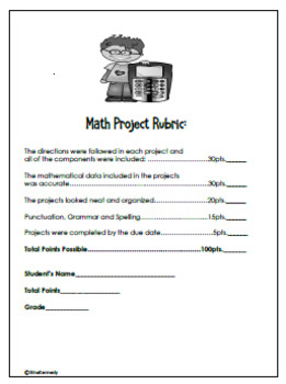 """Multiplication and Division Projects, Creative Fun """"Math Fact"""" Projects"""