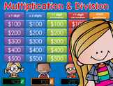 Multiplication/Division Jeopardy Style Game Show - 4th Grade