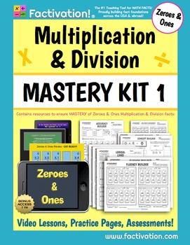 Multiplication/Division Mastery Kit 1