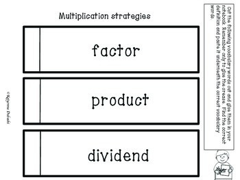 Multiplication/Division Practice