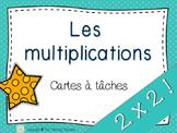 Multiplications 2x2 27 cartes à tâches!