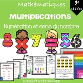 Multiplications - 3e année