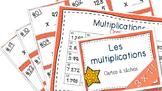 Multiplications 3x1 27 cartes à tâches!