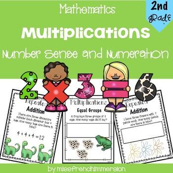 Multiplications - Grade 2