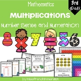 Multiplications - Grade 3