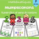 Multiplications (Numération et sens du nombre) - 2e année