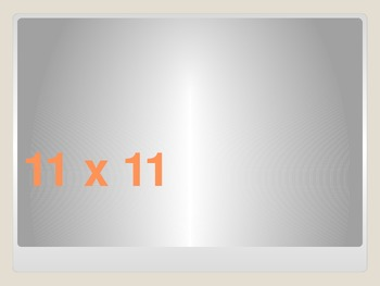Multiplications Powerpoint