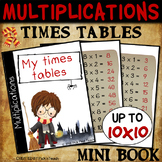 Multiplication – MINI BOOK - TIMES TABLES – Up to 10x10