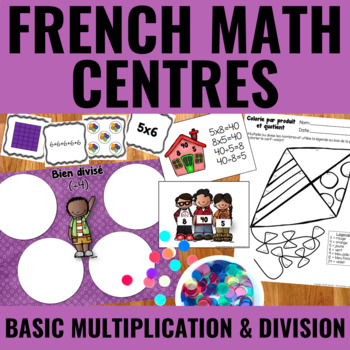 Multiplications et divisions de base - Basic Multiplication and Division Centers