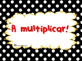 Multiplications/Multiplicaciones