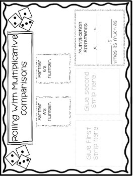 Multiplicative Comparison Activity