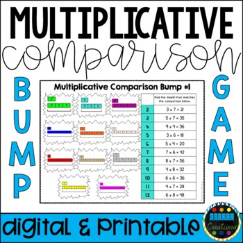 Multiplicative Comparison Bump Game