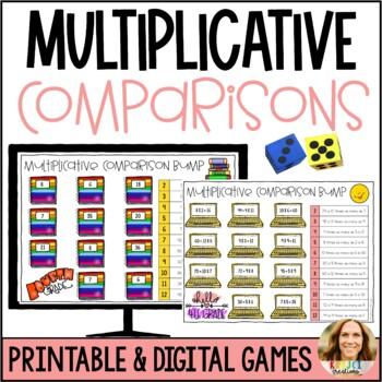 Multiplicative Comparison Bump Game