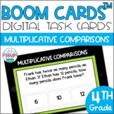 Multiplicative Comparison Problems BOOM CARDS�� Digital Task Cards