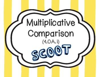 Multiplicative Comparison Scoot