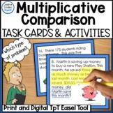 Multiplicative Comparison Word Problem Task Cards