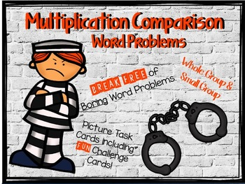 "Multiplication Comparison ""Word Problems"""