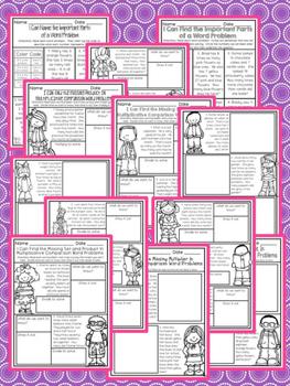 Multiplicative Comparison Word Problems Fourth Grade Math 4.OA.A.2 NO PREP
