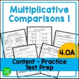 Multiplicative Comparison Practice Worksheets