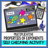Multiplicative Properties of Exponent Digital Self Checkin