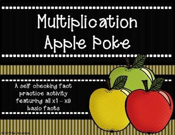 Multipliction Poke {Apple Theme}