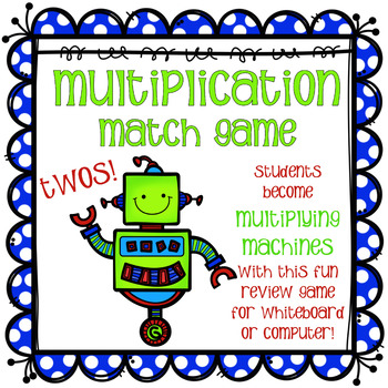 Multiplier Match Game - Twos