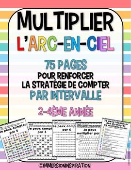 Multiplier l'arc-en-ciel: utiliser les intervalles et les suites pour multiplier