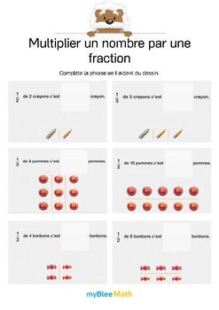 Multiplier un nombre par une fraction 7
