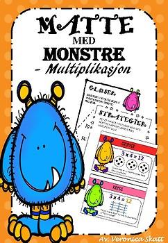 Multiplikasjon Nivå 1 Del 1 - Gloser og Regnestrategier