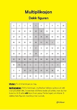 Multiplikasjon - stafett