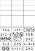 Multiplikasjons oppgaver - Nivå 1 grupper og gjentatt addisjon