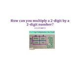 Multiply 2 Digit by 2 Digit Numbers PowerPoint