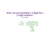 Multiply 3 Digit by 2 Digit Numbers PowerPoint