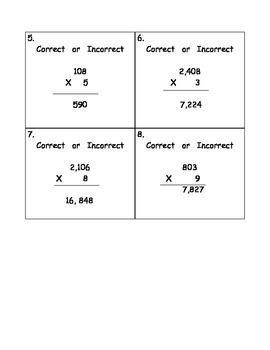 Multiply Across Zeros
