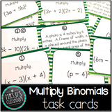 Multiply Binomial Task Cards