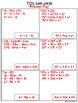 Multiply Binomial Task Cards